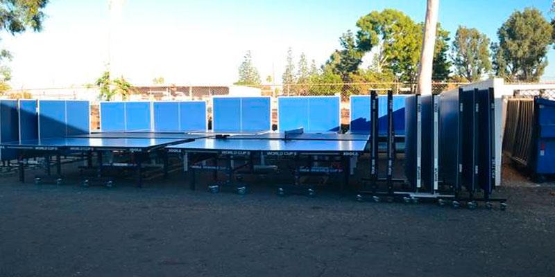 alquilar mesas ping pong eventos