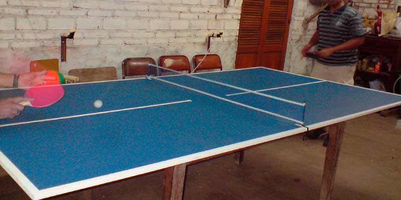 mesa de ping pong casera barata y r pida mesas de ping pong