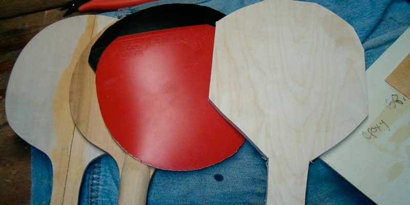 fabricar pala ping pong casera