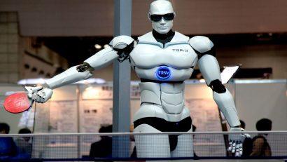 robot comprador mesas de ping pong