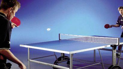 mesa de p pong plegable