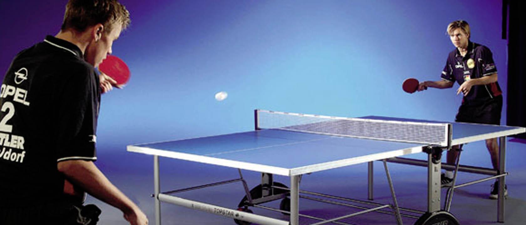 Mesa de ping pong plegable de interior mesas de ping pong - Mesa ping pong plegable ...